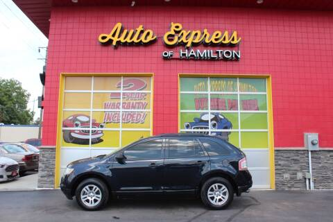 2008 Ford Edge for sale at AUTO EXPRESS OF HAMILTON LLC in Hamilton OH