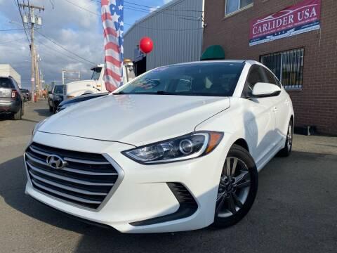 2018 Hyundai Elantra for sale at Carlider USA in Everett MA