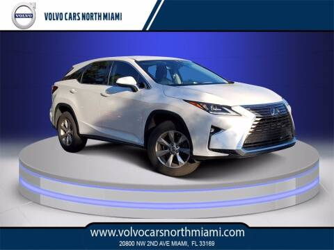 2018 Lexus RX 350 for sale at Volvo Cars North Miami in Miami FL