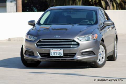 2013 Ford Fusion for sale at Euro Auto Sales in Santa Clara CA