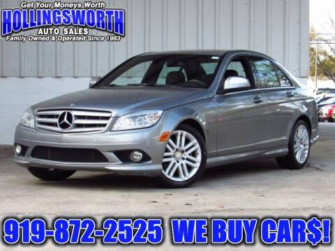 2009 Mercedes-Benz C-Class for sale at Hollingsworth Auto Sales in Raleigh NC