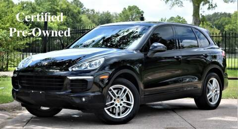 2016 Porsche Cayenne for sale at Texas Auto Corporation in Houston TX