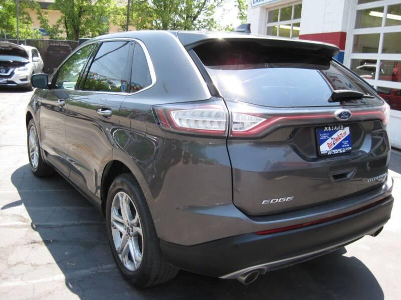 2017 Ford Edge AWD Titanium 4dr Crossover - Bountiful UT