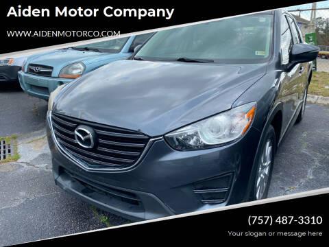2016 Mazda CX-5 for sale at Aiden Motor Company in Portsmouth VA