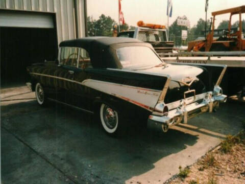 1957 Chevrolet Bel Air for sale at Hines Auto Sales in Marlette MI