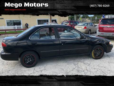1998 Nissan Sentra for sale at Mego Motors in Orlando FL