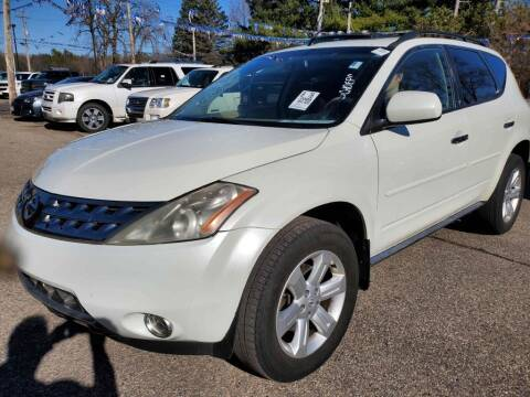 2006 Nissan Murano for sale at Extreme Auto Sales LLC. in Wautoma WI