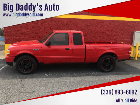 2008 Ford Ranger for sale at Big Daddy's Auto in Winston-Salem NC