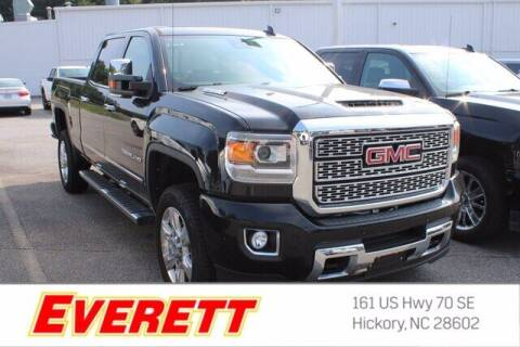 2018 GMC Sierra 2500HD for sale at Everett Chevrolet Buick GMC in Hickory NC