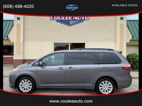 2016 Toyota Sienna for sale at Coulee Auto in La Crosse WI