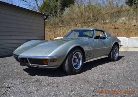 1972 Chevrolet Corvette for sale at Classic Car Deals in Cadillac MI