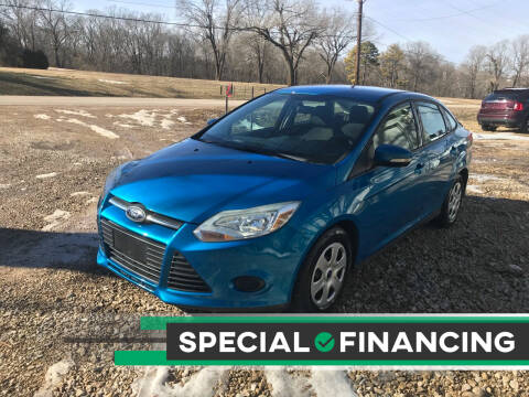 2013 Ford Focus for sale at Budget Auto Sales in Bonne Terre MO