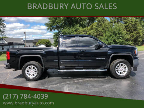 2016 GMC Sierra 1500 for sale at BRADBURY AUTO SALES in Gibson City IL
