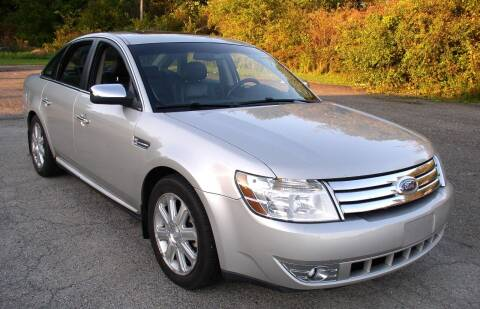 2008 Ford Taurus for sale at Angelo's Auto Sales in Lowellville OH