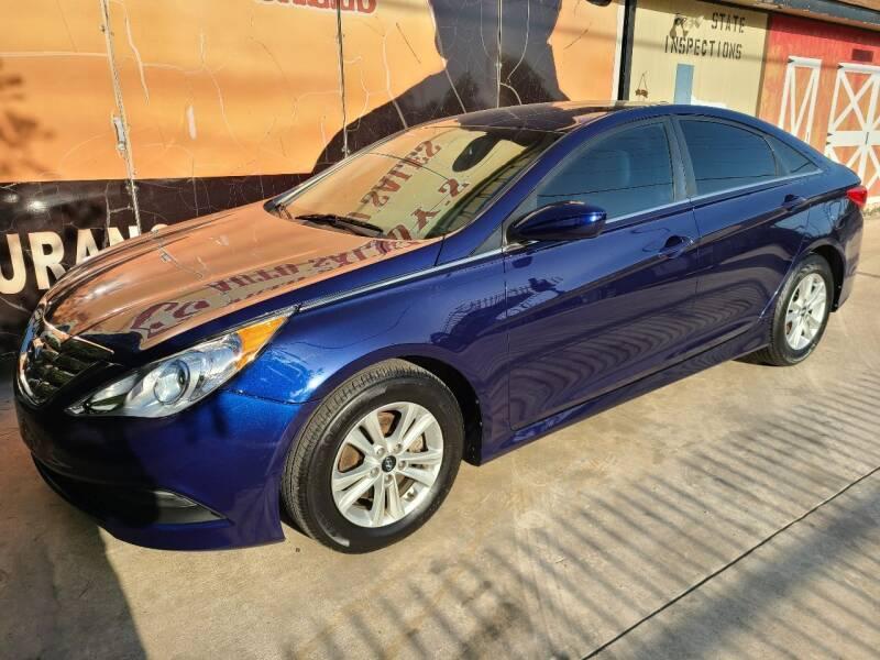 2014 Hyundai Sonata for sale at Cowboy's Auto Sales in San Antonio TX