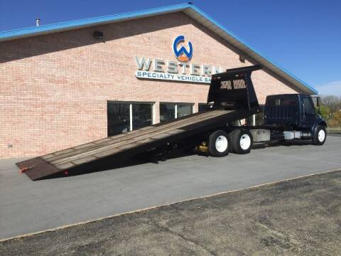 2005 Freightliner M2 Tandem Rollback for sale at Western Specialty Vehicle Sales in Braidwood IL