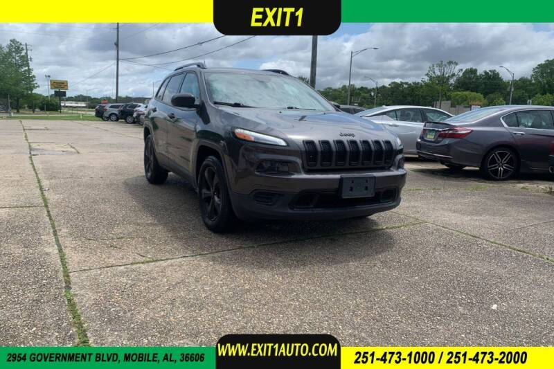 2016 Jeep Cherokee for sale at Exit 1 Auto in Mobile AL