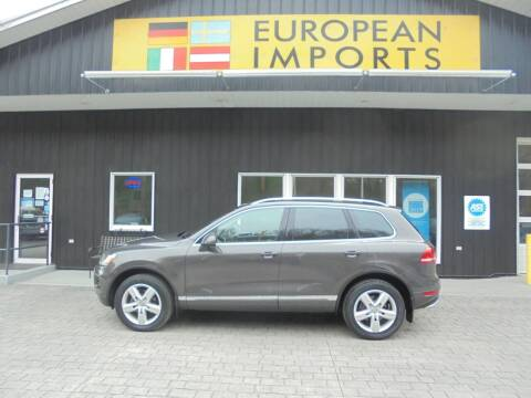 2012 Volkswagen Touareg for sale at EUROPEAN IMPORTS in Lock Haven PA