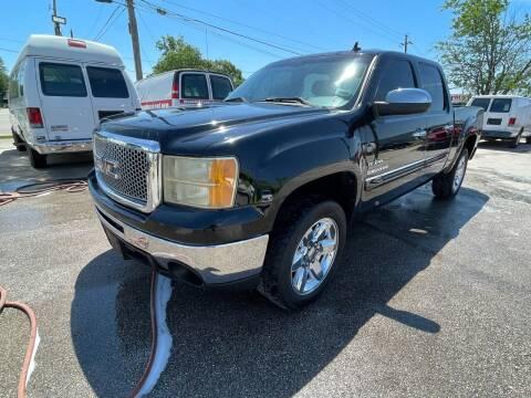 2012 GMC Sierra 1500 for sale at RODRIGUEZ MOTORS CO. in Houston TX