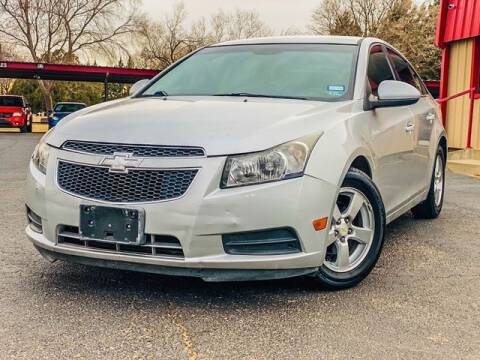 2013 Chevrolet Cruze for sale at MAGNA CUM LAUDE AUTO COMPANY in Lubbock TX