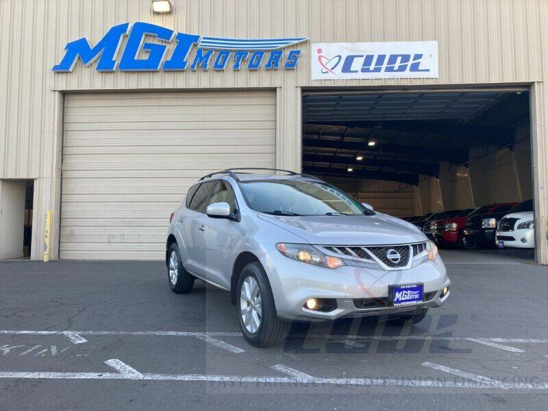 2013 Nissan Murano for sale at MGI Motors in Sacramento CA