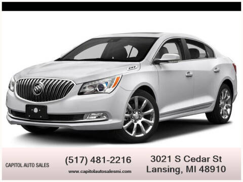 2015 Buick LaCrosse for sale at Capitol Auto Sales in Lansing MI