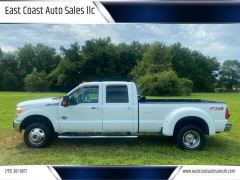 2012 Ford F-350 Super Duty for sale at East Coast Auto Sales llc in Virginia Beach VA