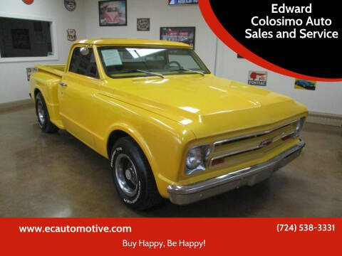 1967 Chevrolet C/K 10 Series for sale at Edward Colosimo Auto Sales and Service in Evans City PA