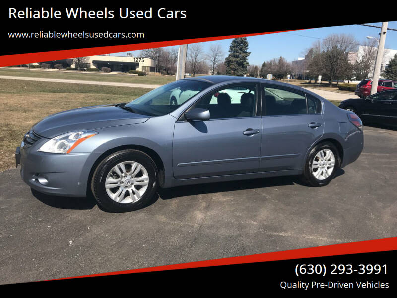 2012 Nissan Altima for sale at Reliable Wheels Used Cars in West Chicago IL