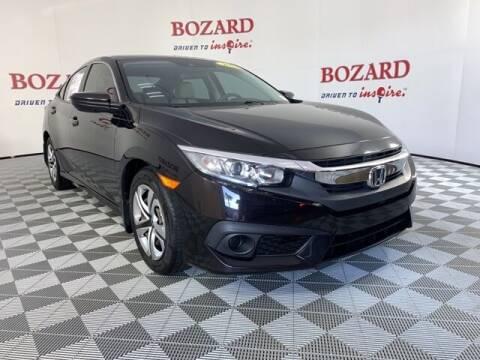 2017 Honda Civic for sale at BOZARD FORD in Saint Augustine FL