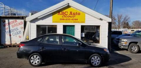 2009 Hyundai Elantra for sale at ABC AUTO CLINIC - Chubbuck in Chubbuck ID