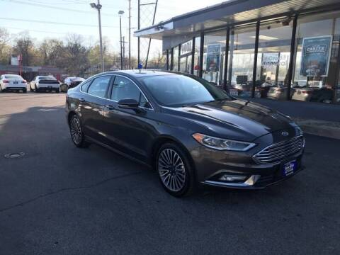 2017 Ford Fusion for sale at Smart Buy Car Sales in St. Louis MO