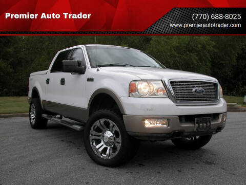 2004 Ford F-150 for sale at Premier Auto Trader in Alpharetta GA