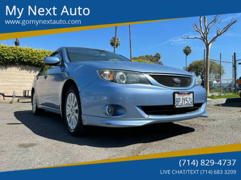 2011 Subaru Impreza for sale at My Next Auto in Anaheim CA