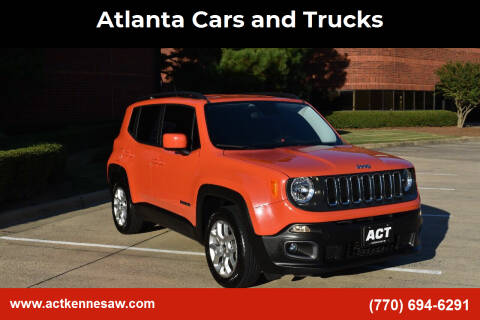 2015 Jeep Renegade for sale at Atlanta Cars and Trucks in Kennesaw GA