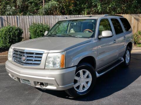 2004 Cadillac Escalade for sale at Mich's Foreign Cars in Hickory NC