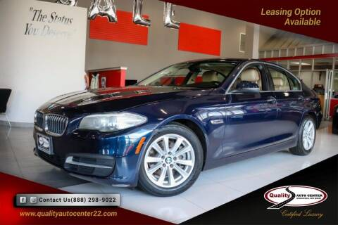 2014 BMW 5 Series for sale at Quality Auto Center of Springfield in Springfield NJ