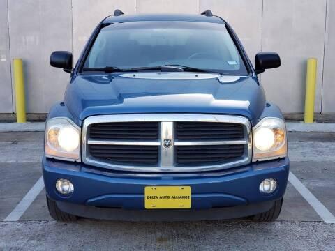 2005 Dodge Durango for sale at Delta Auto Alliance in Houston TX