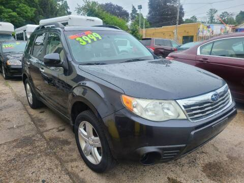 2010 Subaru Forester for sale at Quality Motors of Germantown in Philadelphia PA