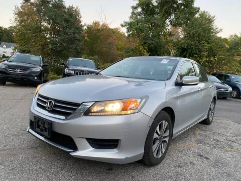 2013 Honda Accord for sale at Royal Crest Motors in Haverhill MA
