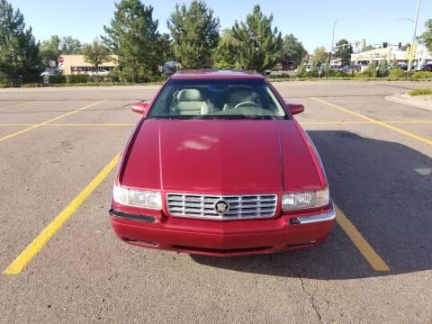 2001 Cadillac Eldorado for sale at Red Rock's Autos in Denver CO