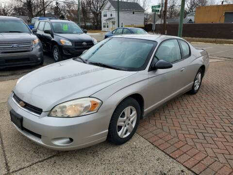2006 Chevrolet Monte Carlo for sale at Jarvis Motors in Hazel Park MI