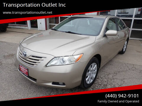 2007 Toyota Camry for sale at Transportation Outlet Inc in Eastlake OH