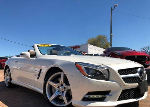 2014 Mercedes-Benz SL-Class for sale at Cars of Tampa in Tampa FL