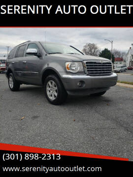 2007 Chrysler Aspen for sale at SERENITY AUTO OUTLET in Frederick MD