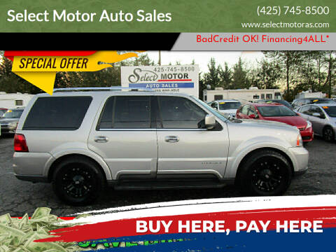 2004 Lincoln Navigator for sale at Select Motor Auto Sales in Lynnwood WA
