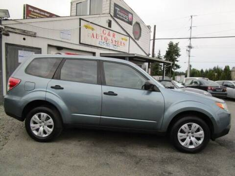 2010 Subaru Forester for sale at G&R Auto Sales in Lynnwood WA