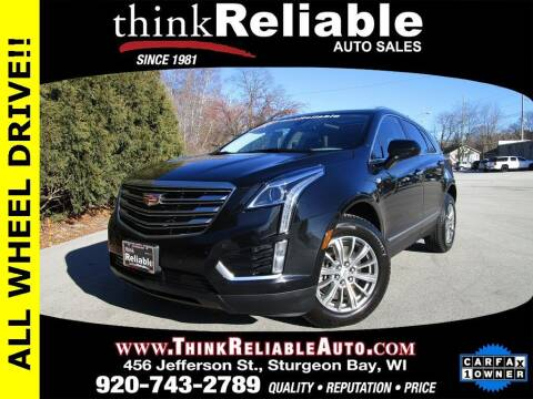 2018 Cadillac XT5 for sale at RELIABLE AUTOMOBILE SALES, INC in Sturgeon Bay WI