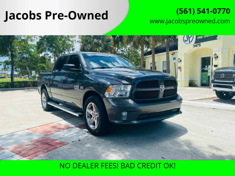 2018 RAM Ram Pickup 1500 for sale at Jacobs Pre-Owned in Lake Worth FL