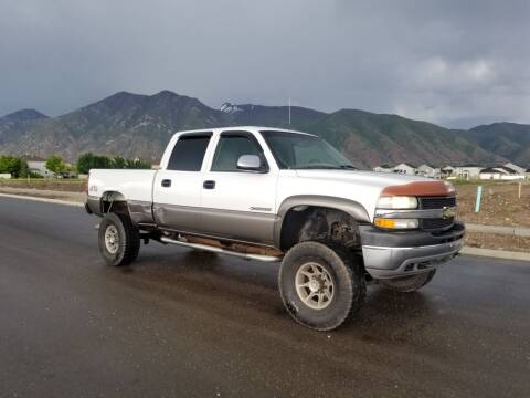 2001 Chevrolet Silverado 2500HD for sale at FRESH TREAD AUTO LLC in Springville UT